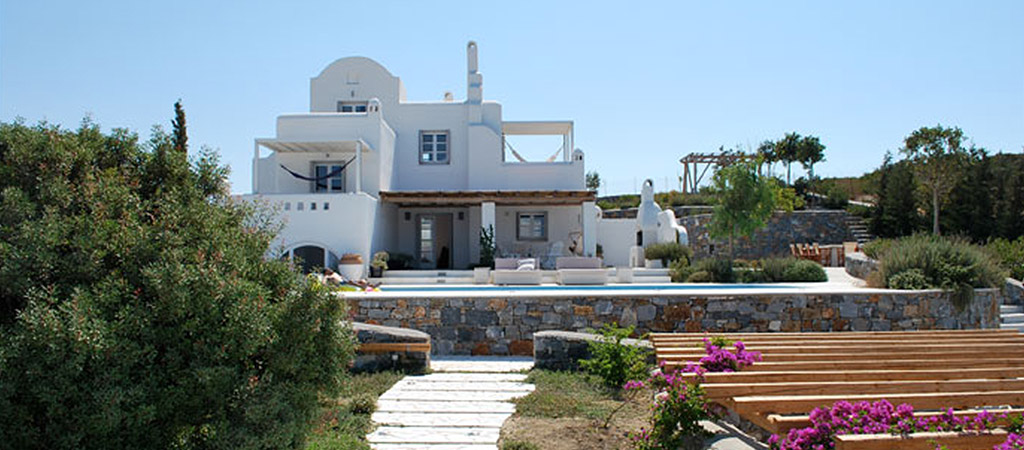 construction villa grece architecte
