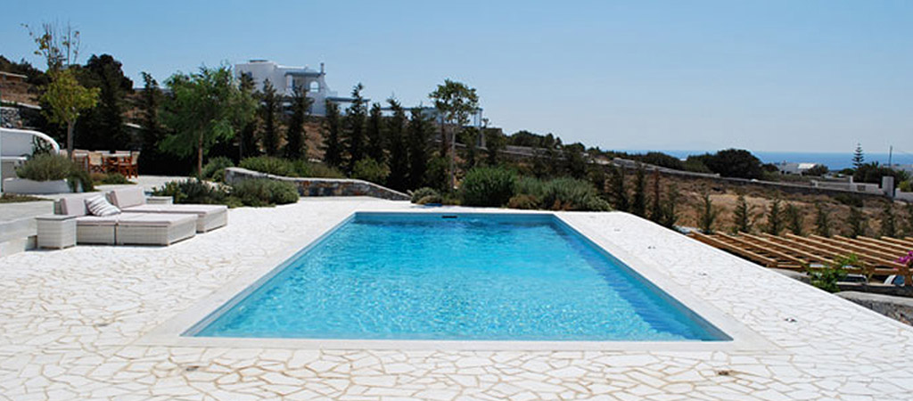 piscine cresée villa architecte