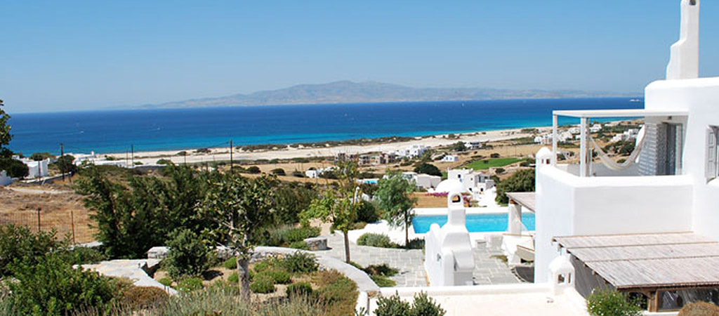 vue mer villa grece
