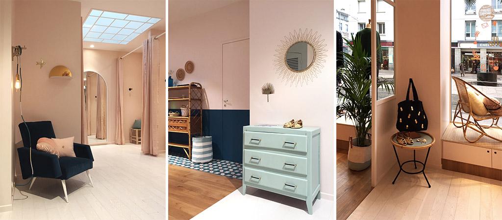 cabines essayages boutique architecte