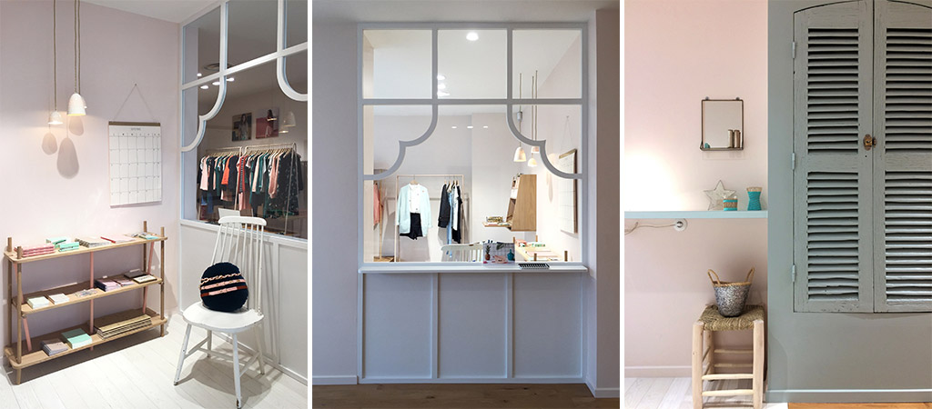 renovation boutique vetements architectes