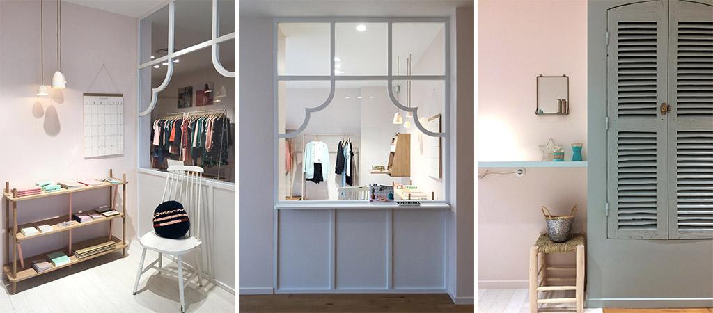 renovation boutique vetements architectes