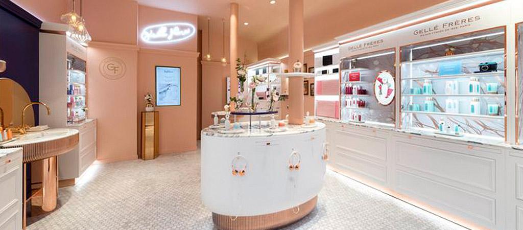 aménagement parfumerie luxe architecte