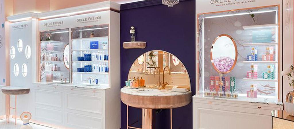 parfumeur luxe décoration architecte