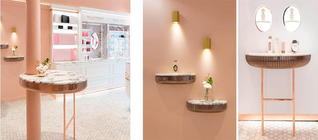 décoration aménagement boutique architecte