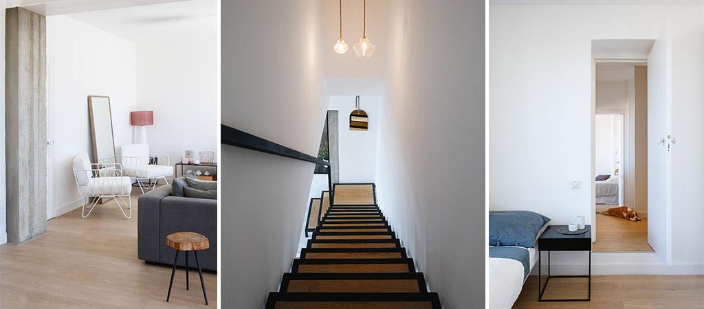 escalier maison étages architecte