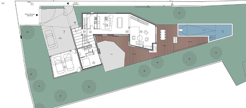 plan construction villa architecte
