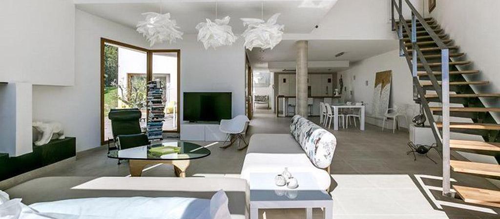 sejour spacieux villa architecture