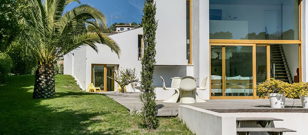 terrasse villa contemporaine architecte