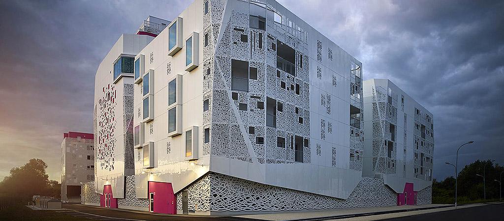 architecture logements collectifs neufs