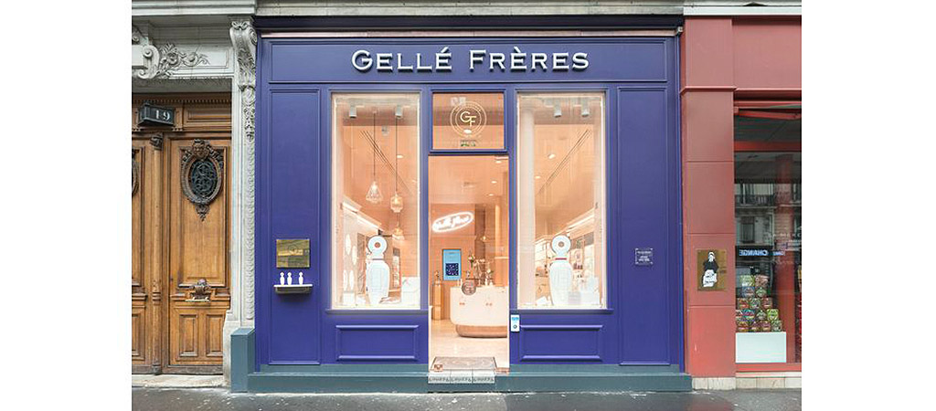 facade boutique parfumerie architecte