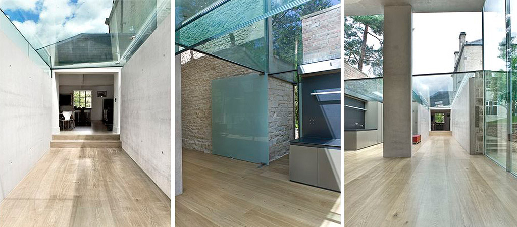 villa transparente extension architecte