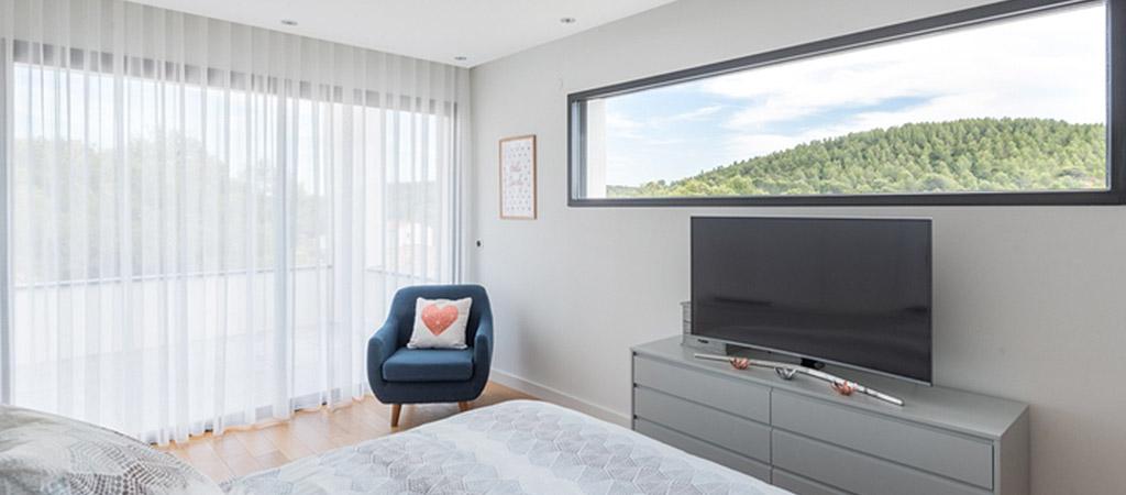 chambre panorama villa architecte