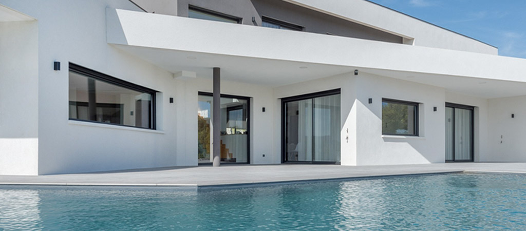 piscine construction villa architecte