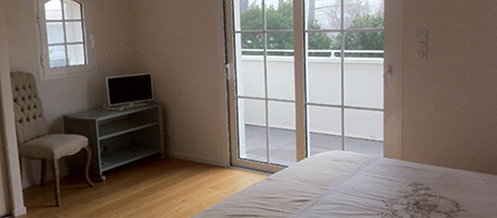 chambre balcon architecture maison