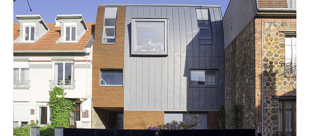 facade maison bois architecte
