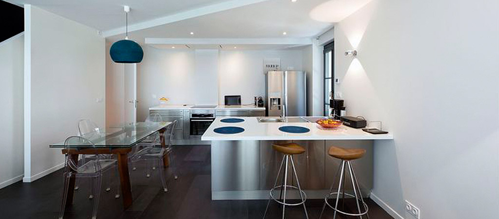 cuisine ouverte moderne villa