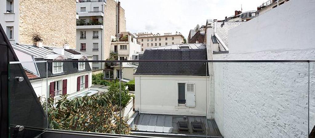 terrasse verre villa architecte