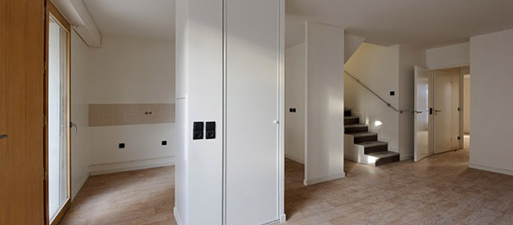 interieur appartement logements architecte