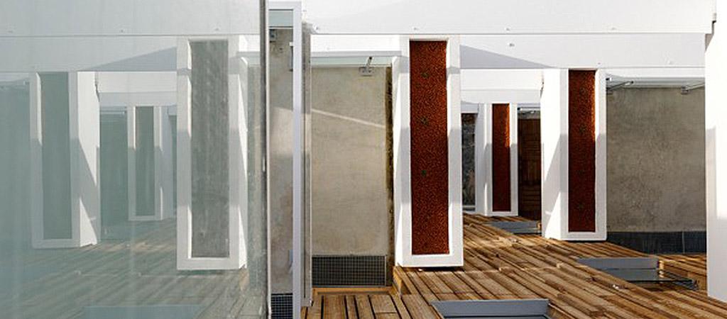 terrasse bois logements collectifs