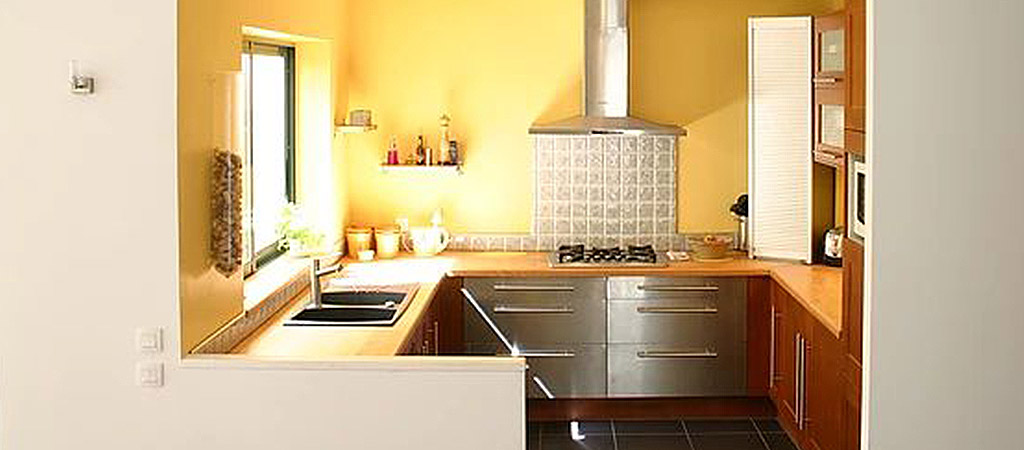 cuisine ouverte maison étages