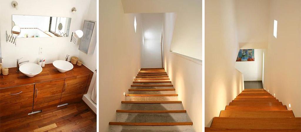 escalier piece maison etages