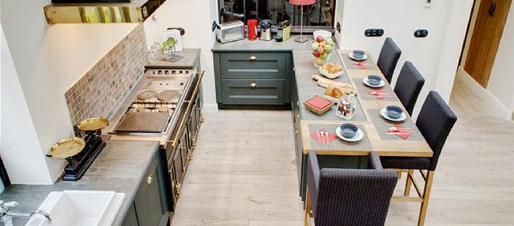 cuisine surmesure construction villa
