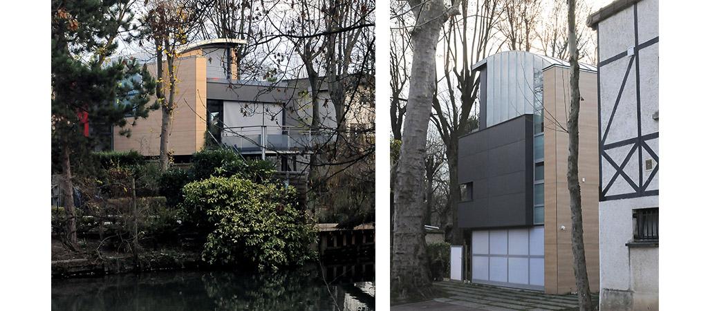 villa bord marne architecte