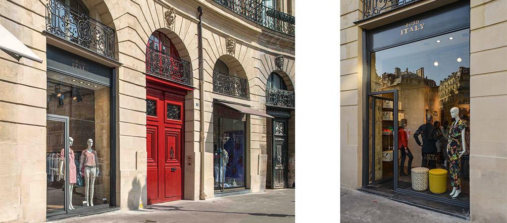 facade boutique haute couture