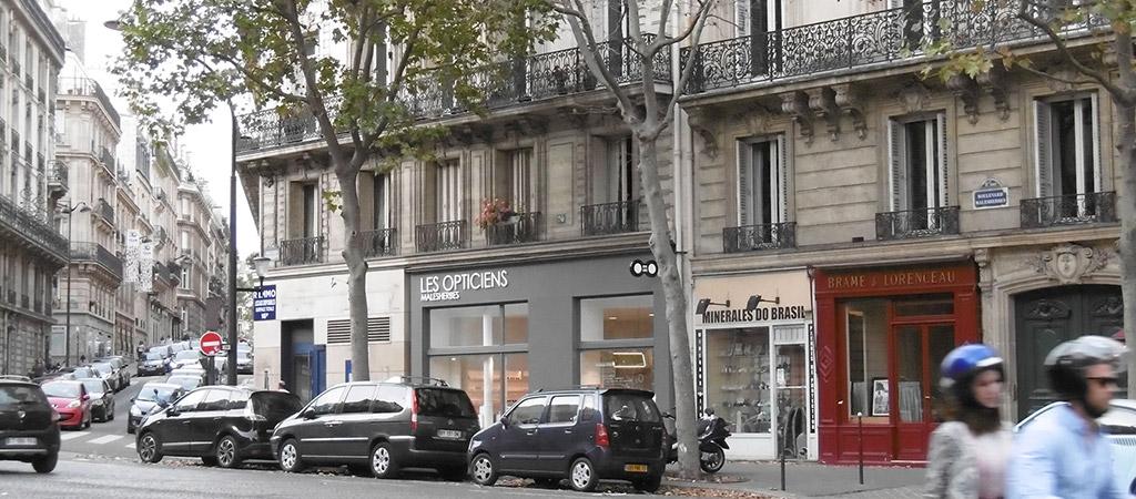 facade architecture rénovation opticien