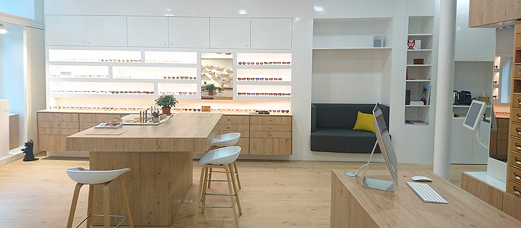 boutique bois surmesure architecte