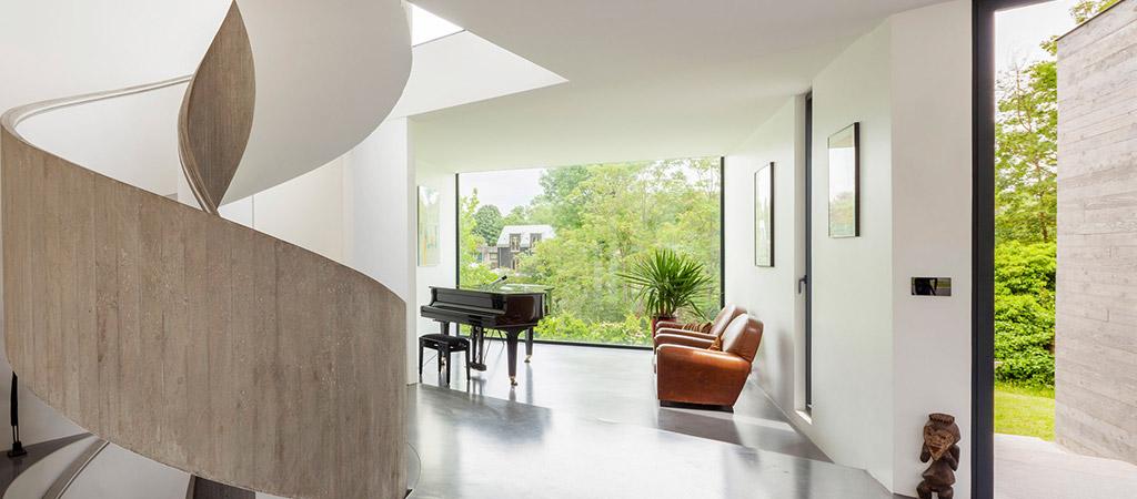 maison deux etages architecte