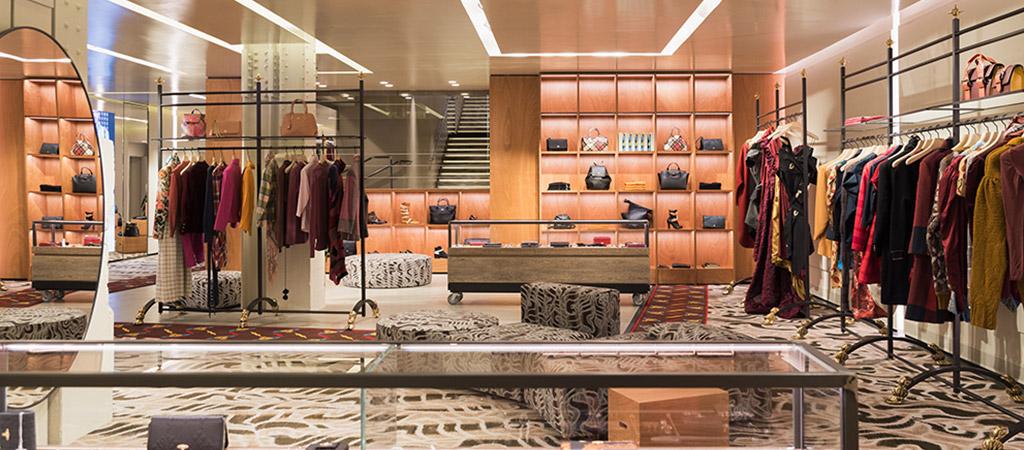 aménagement boutique créateur architecte