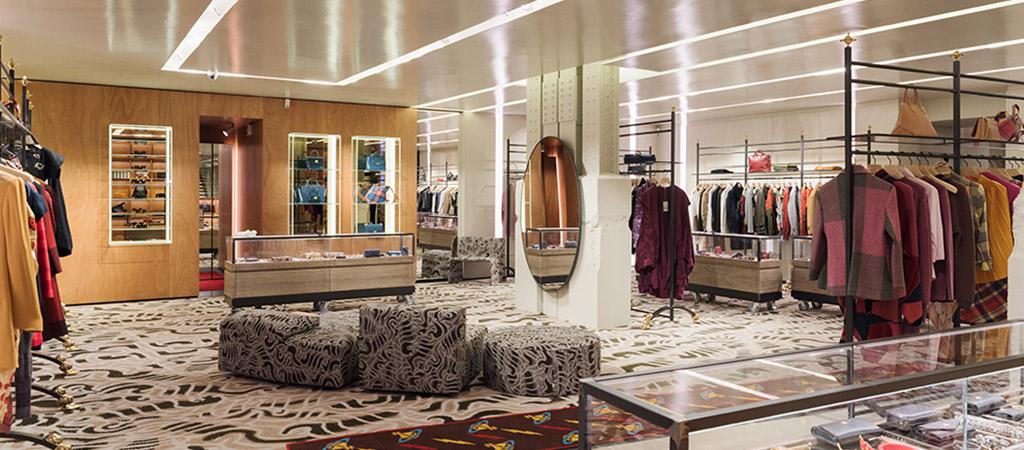 boutique vetements luxe architecte