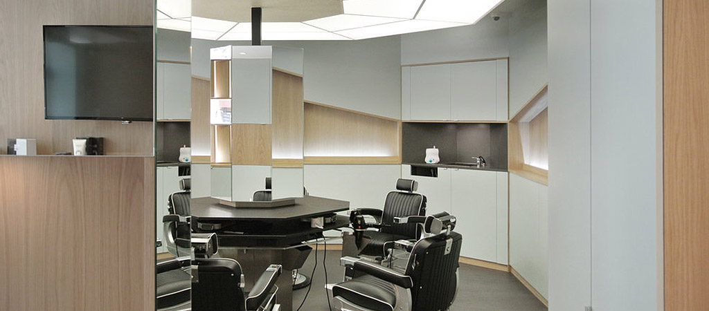 confortable boutique aménagement architecte
