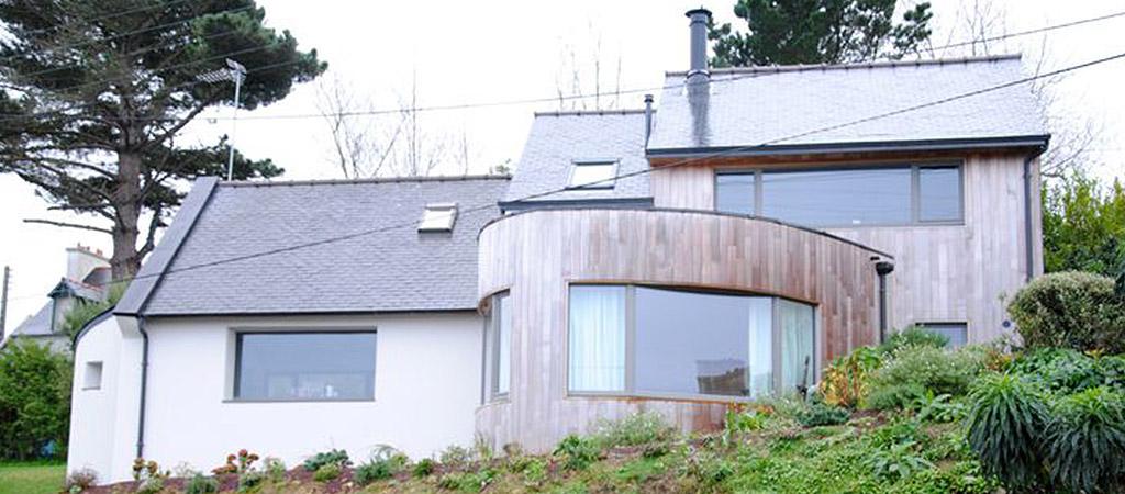 maison originale construite architecte