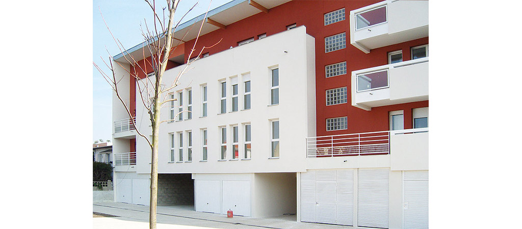 facade beton logements collectifs