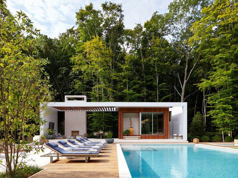 un pool house pour des vacances la maison blog. Black Bedroom Furniture Sets. Home Design Ideas